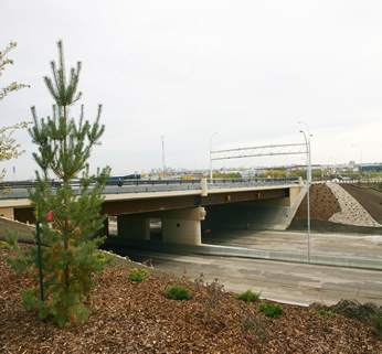 156 Street:Yellowhead Trail Interchange Bridge